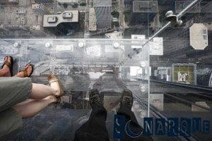 Soñar con un piso de vidrio