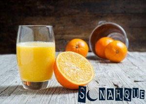 Soñando con jugo de naranja