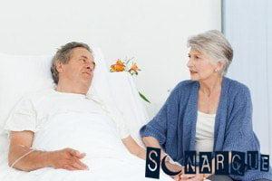 Soñar con un esposo enfermo