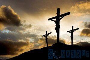 Soñando con Jesús en la cruz