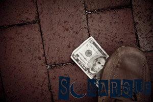 lo que significa encontrar dinero