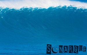 Soñar con una ola gigante