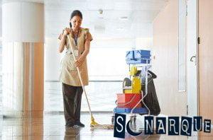 Soñando que limpias el piso