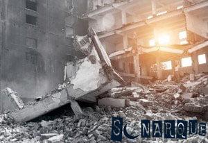 Soñar que huye del terremoto