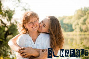 Soñando con abrazar a la madre