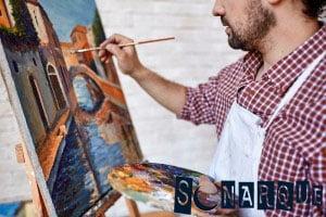 Soñar con un artista