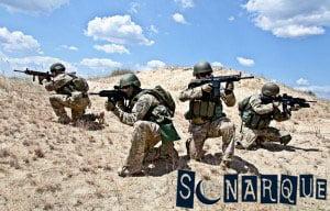 Soñar con soldados del ejército