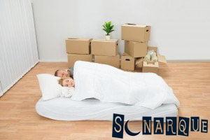 Soñando con un colchón en el piso
