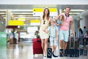 Soñar que viajas con la familia