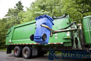 Soñar con un camión de basura