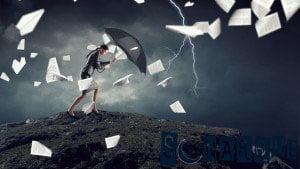 Soñando con viento fuerte