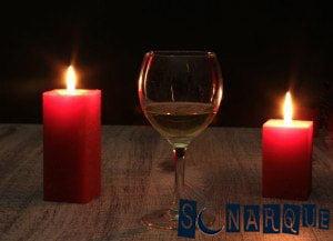 Soñar con una vela roja