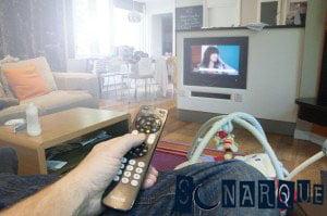 Soñando con ver televisión