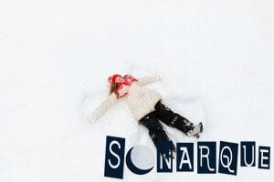 Soñar que yace en la nieve