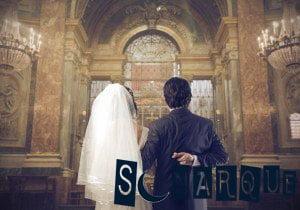 soñando con matrimonio en la iglesia