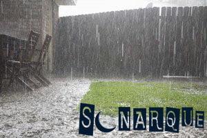 lluvia espesa