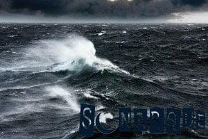 soñar con mares bravos