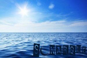 soñando con el mar azul