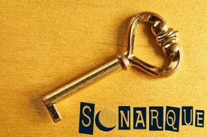 llave dorada