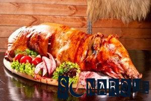 Soñando con cerdo asado