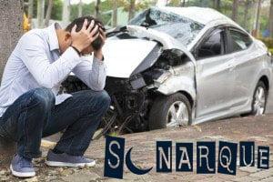 Soñar con un accidente automovilístico