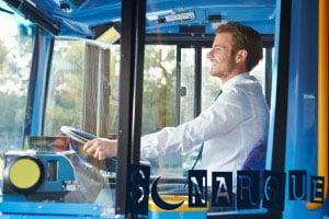 Soñando que estás conduciendo un autobús