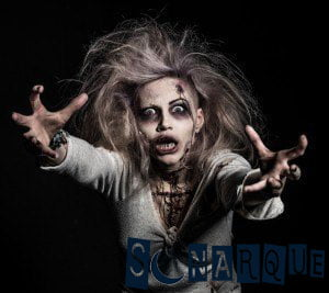 Soñando con un zombi persiguiéndote