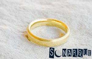 Soñando con un anillo de bodas de oro