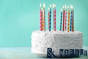 Soñar con una tarta de cumpleaños