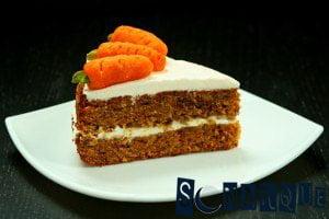 Soñar con tarta de zanahoria