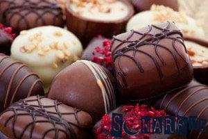 Soñar con dulces de chocolate