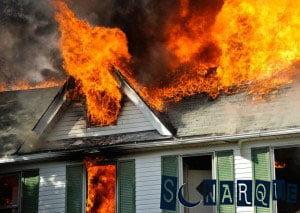 Soñando con una casa en llamas
