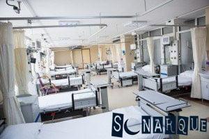 Soñando con un hospital vacío