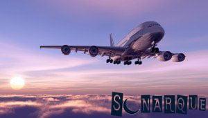 Soñar con un avión volando
