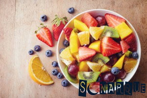 Soñando con ensalada de frutas