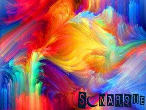 Soñar con colores de colores