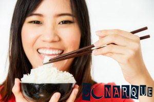 Soñando comiendo arroz