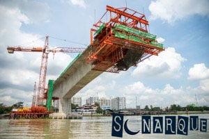 Soñando con un puente en construcción