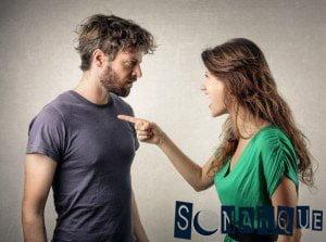 Soñando con una pelea de amantes