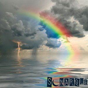 Soñando con arcoíris en el agua