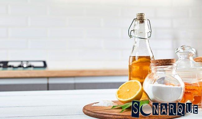 Bicarbonato de sodio y sal