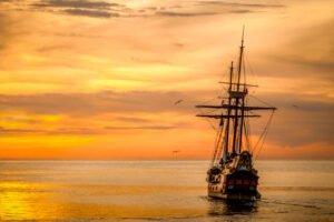 Sueñas con un barco con vela