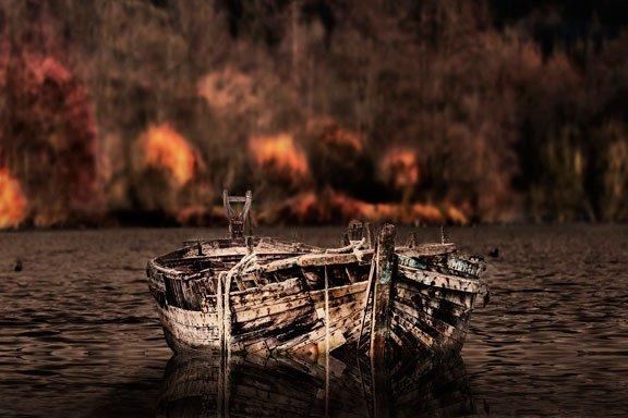Sueñas con un viejo barco