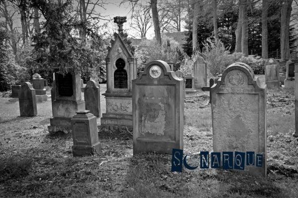 soñar con cementerio oscuro