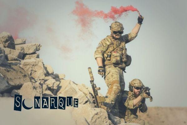 soñar con guerra