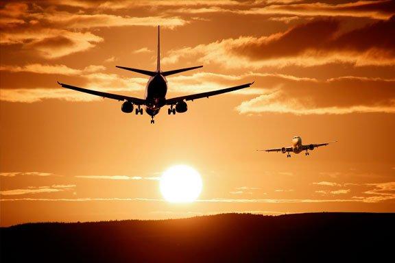 soñar con volar a otro pais