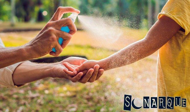 spray de ajo para controlar los mosquitos