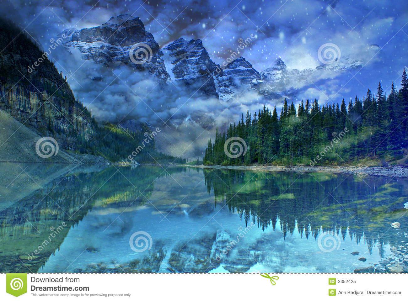 sueño del lago